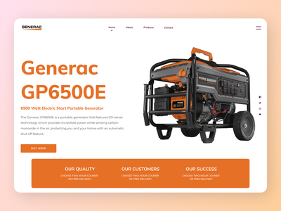 Generators Web Design websites new branding web uiux clear cleardesign ux ui design