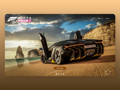 Gaming Web website web social online newdesign new branding ux ui design