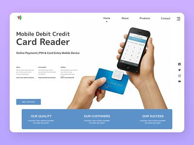Debit Card Payment uiux web website online newdesign new branding ui ux design
