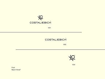 COSTALIEBICH ™   Logo Design minimalist symbol design symbols brand design brand identity branding logodesign logotype logo