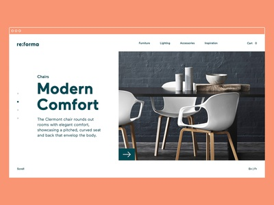 Reforma Studio – Featured logotype typography website identity brand identity art direction store furniture ux ui e-commerce desktop ui design ux design web design graphic  design branding