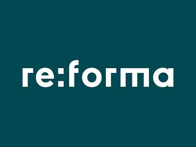 Reforma Studio – Logo logotype typogaphy logo identity store graphic  design furniture branding brand identity art direction