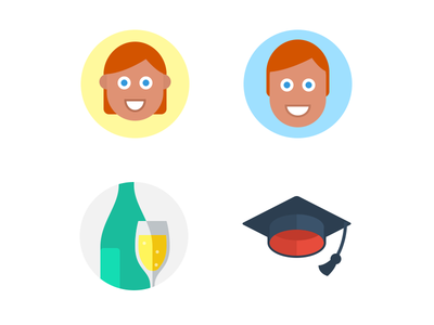 Flat Icons (Retina)
