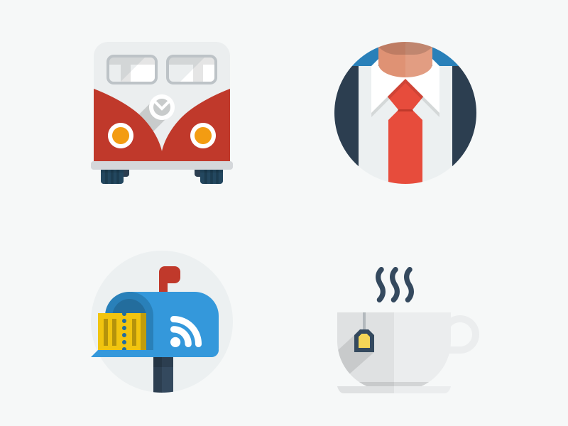 50 New Flat UI Icons ui user interface web design flat flat design ui kit templates icons flat icons