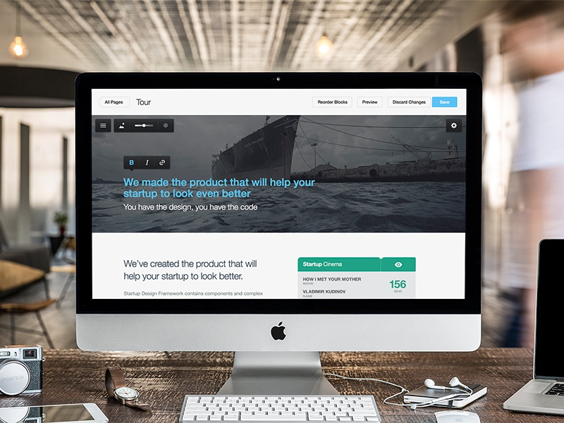 Startup framework wp