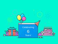 Celebrating 6 Years of Designmodo