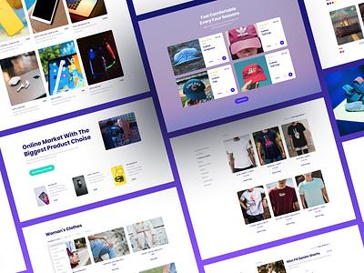New Ecommerce Designs for Startup ui webdesign bootstrap shop ecommerce