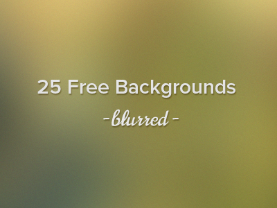 25 Free High Resolution Blurred Backgrounds background blur