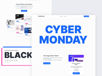 Cyber Monday Animation cyber monday animation