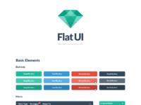Flat ui kit free