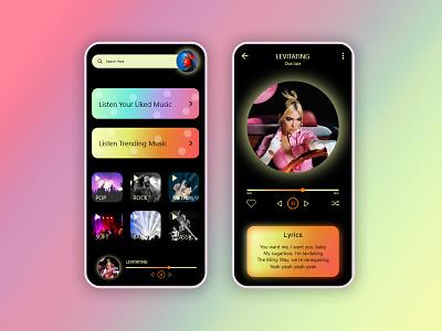 Music Player Concept - Daily UI 009 songapp user musicplayer player music appdesign app ui graphic design design dailyui