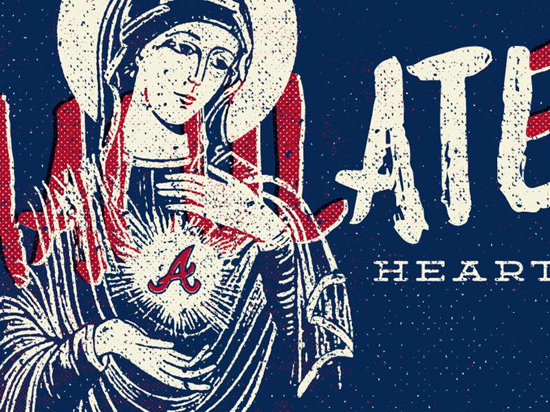 heArt braves atl atlanta