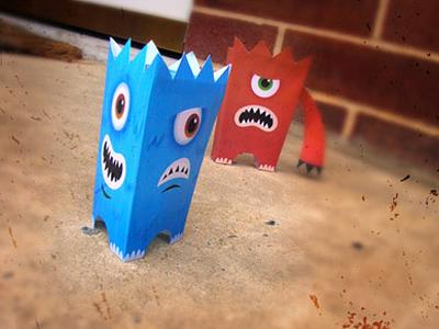 Paper Cutout Toys
