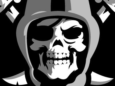 Oakland Raiders Logo nfl football oakland raiders sports branding