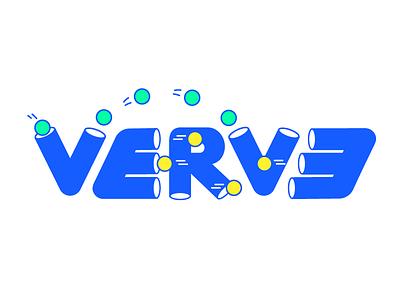 Verve Shoot play ball shoot fun excited neon branding verve