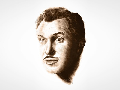 Vincent Price sketch procreate illustration vincent price price vincent horror