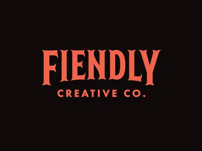 Fiendly logo self promo
