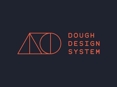 Dough Design System utilitarian designsystem monospaced monospace logo designsystems design system branding bauhaus