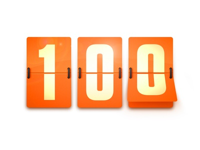 100 countdowntimer countdown number