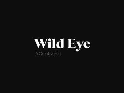 Wildeye typeface logo