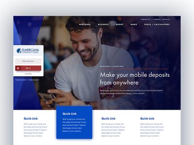 Homepage (wip)