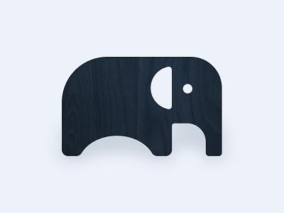 Elephant Chair chair animal illustration icon elephant