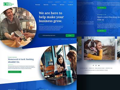 WIP Homepage uiux ui web responsive webdesign dynamic circles blue landingpage website splashpage hero