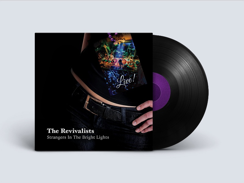 The Revivalists Record Store Day Vinyl Album Jacket By