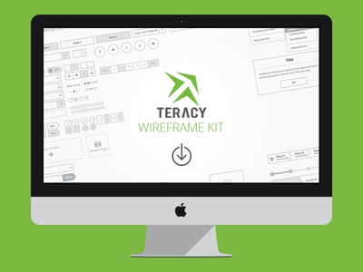 Teracy Wireframe for Sketch