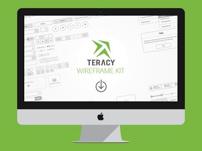 Teracy Wireframe for Sketch freebie wireframe teracy vietnam