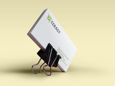 Teracy Business Card  business card branding vietnam teracy