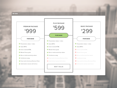 The Email Design Conference 2013 - Packages