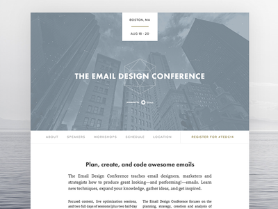 The Email Design Conference 2014
