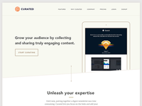 Curated.co Marketing Site
