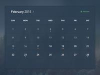 Freebie PSDs: Calendar