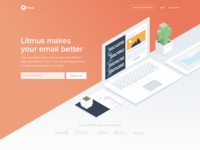 Litmus Homepage Redesign - April '17