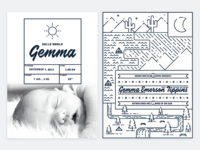 Gemma's Birth Announcement