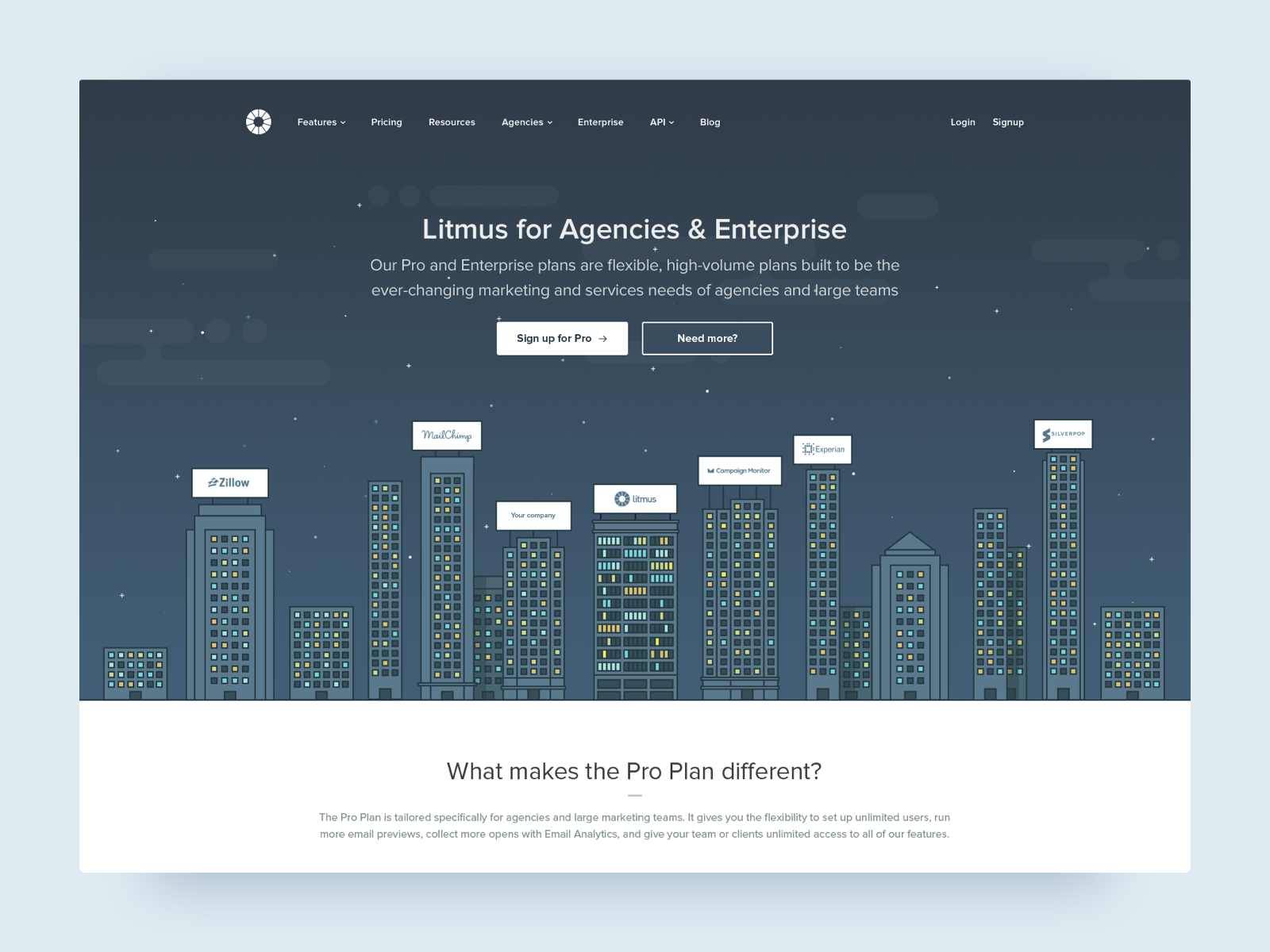Litmus agencies dribbble