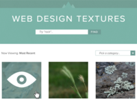 Web Design Textures.com v2