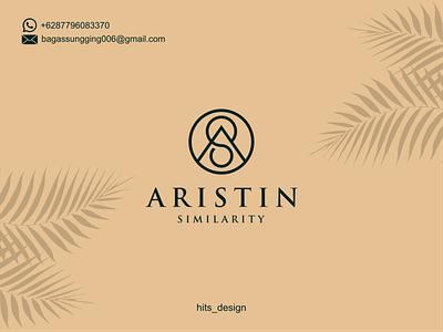 ARISTIN SIMILARITY typography logo illustration icon design branding