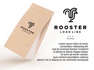ROOSTER graphic design typography logo illustration icon design branding