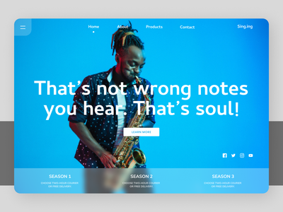 Musical Instruments web newdesign new design shopify creative clean design clean ux ui