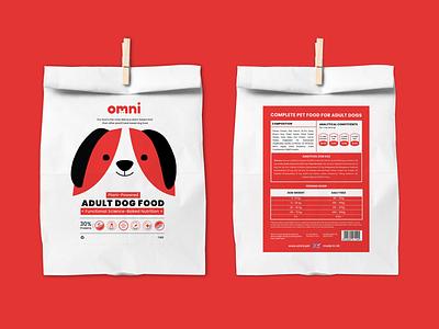 Branding & Packaging concept design for Omni. identity vector label food illustration colorful packaging branding