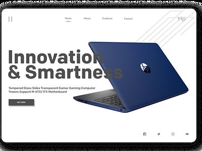 Laptops Web Design dailyui typography new branding minimal website web ux ui design