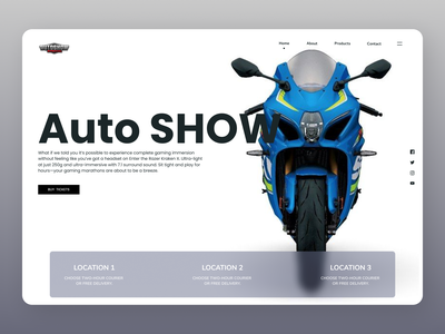 Bikes Online online shop bikes minimal dashboard ui new dailyui web website design ux ui