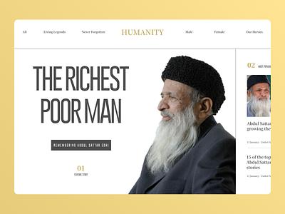 Celebrity Web web uiux online clean ui cleandesign clean minimal ux ui design