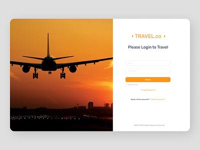 Travelling Web Design online new clean uiux clean ui cleandesign minimal design ux ui