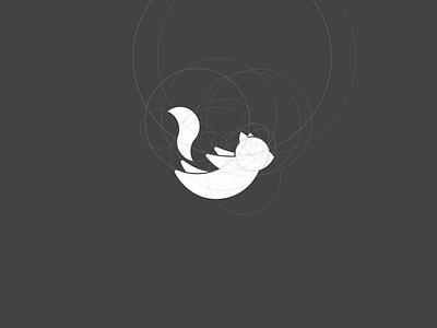 Flying Squirrel logo squirrel flying