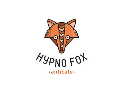 Hypno Fox fox point cafes hypnosis logo
