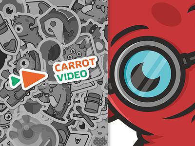 Imp  illustration horns jack-process video glasses carrots inp